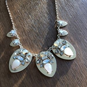 Gold and Blush Statement necklace